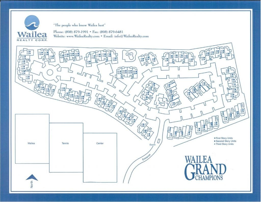 Wailea Grand Champions property map